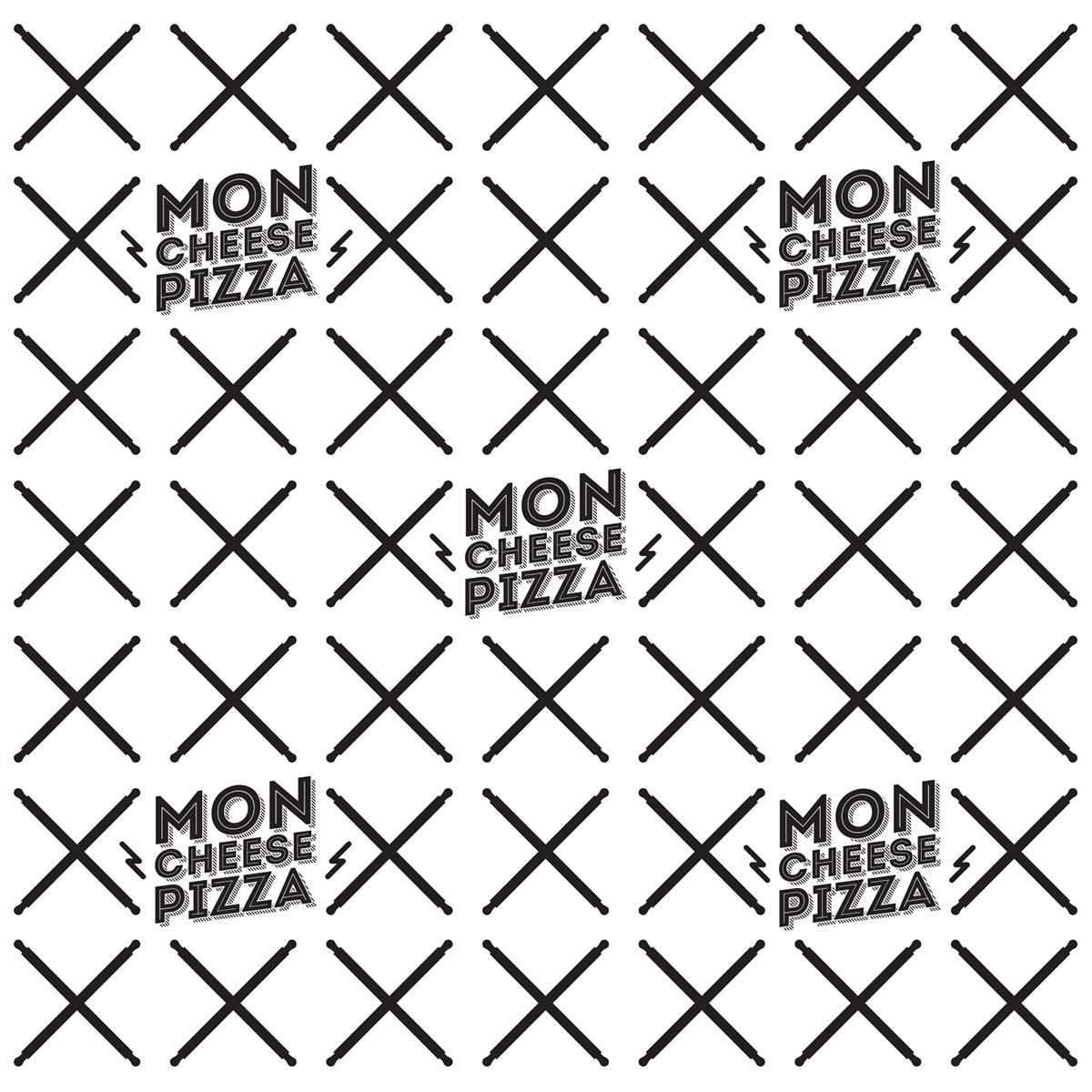 Moncheese Pizza On Behance