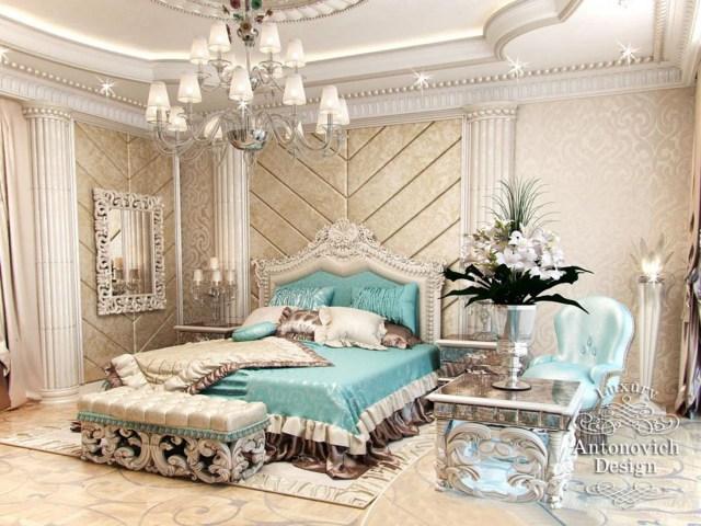 Master Bedroom Design from Luxury Antonovich Design on Behance
