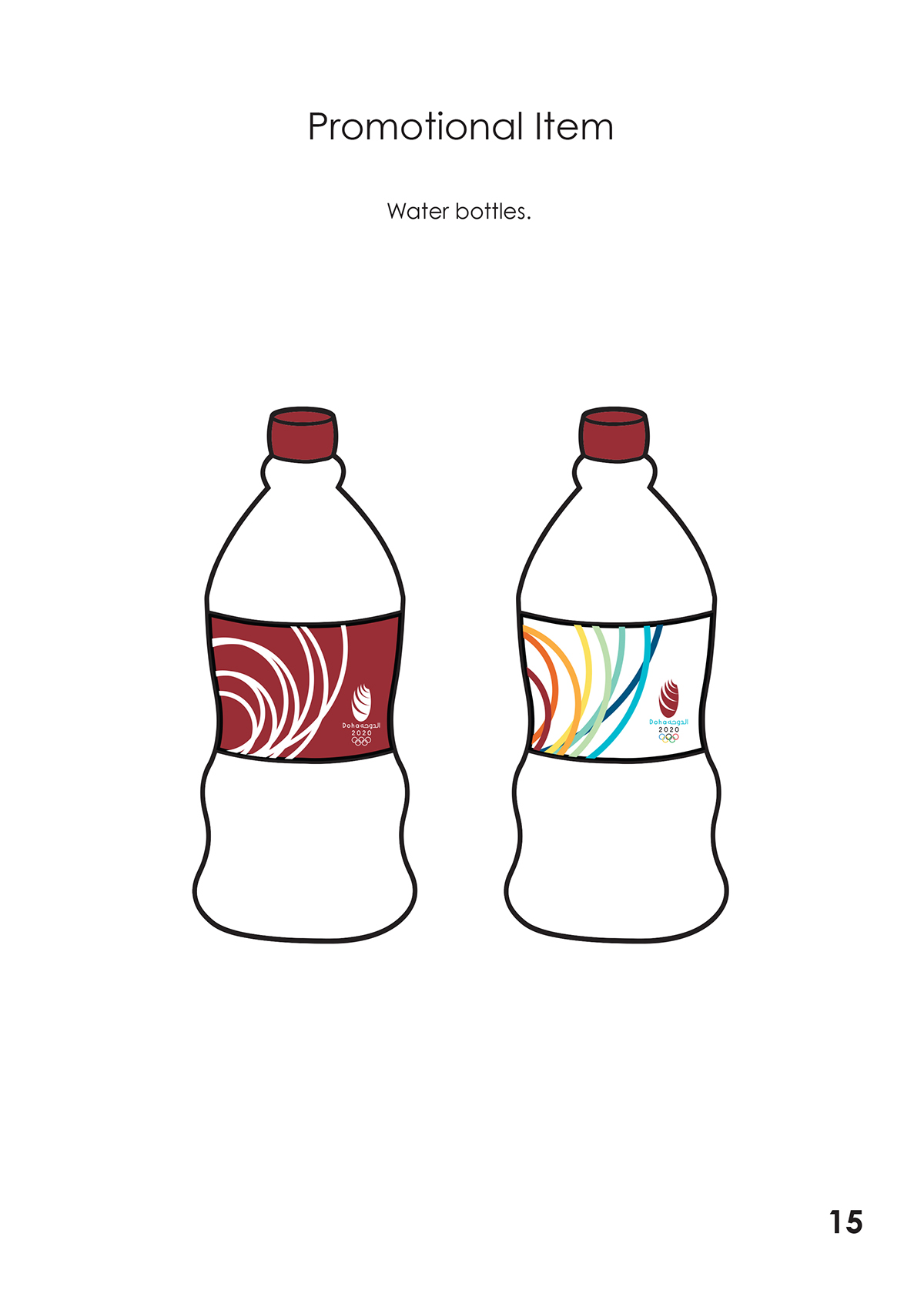 Doha Olympics, Brand Manual on Behance