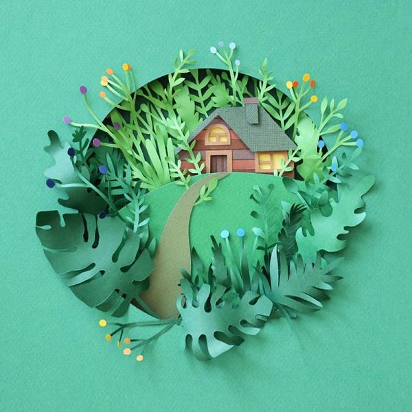 Beautiful Paper Art Work Margaret Scrinkl