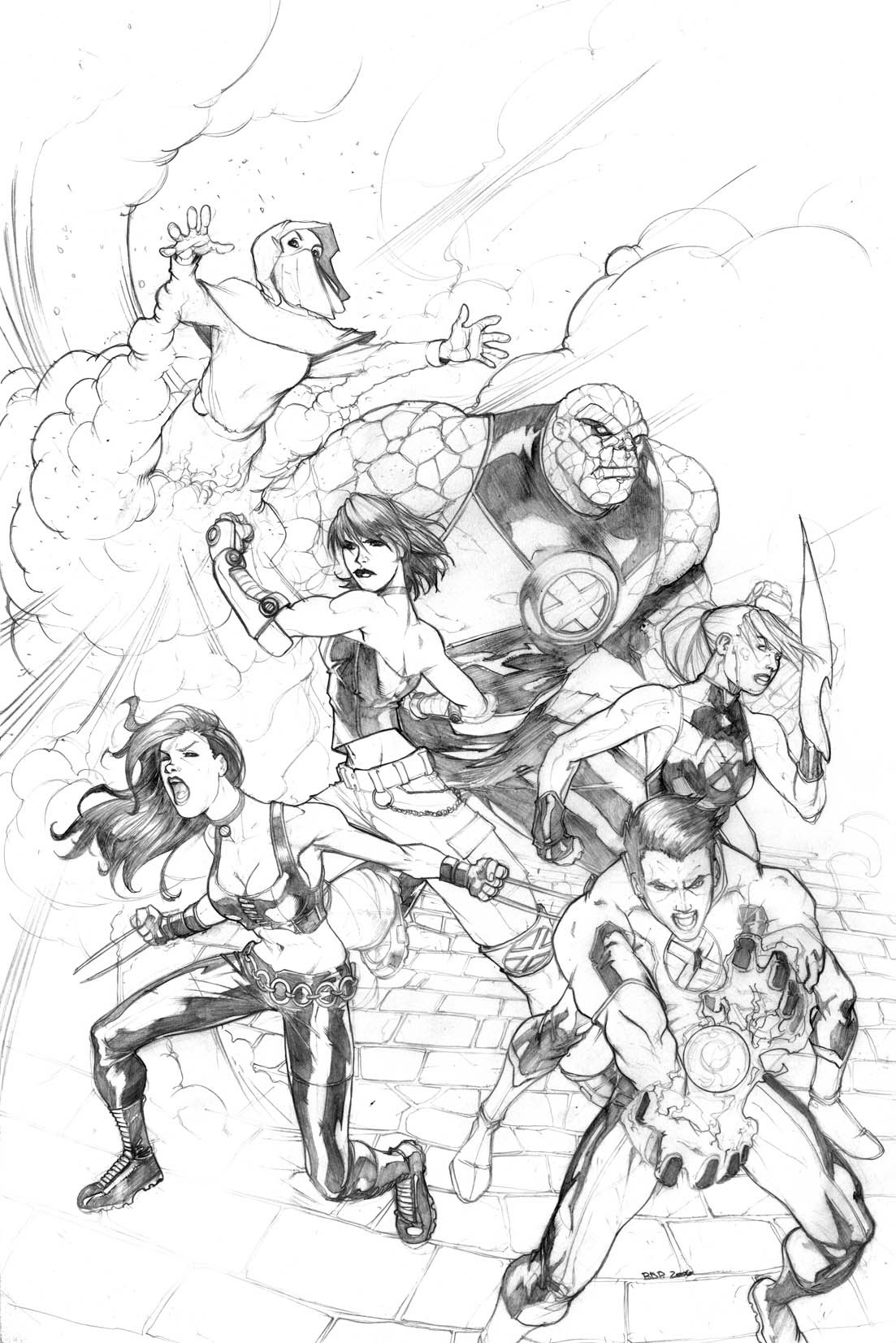 Sequential and various Marvel Art through the years on Behance
