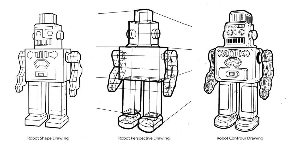 Robot Project on Behance