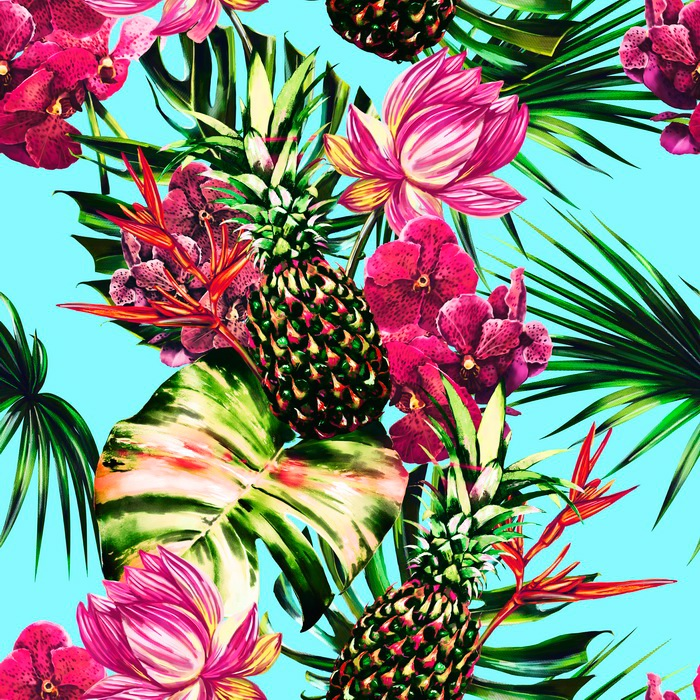 Cute Wallpapers Pineapple Watermelon Bright Summer On Behance
