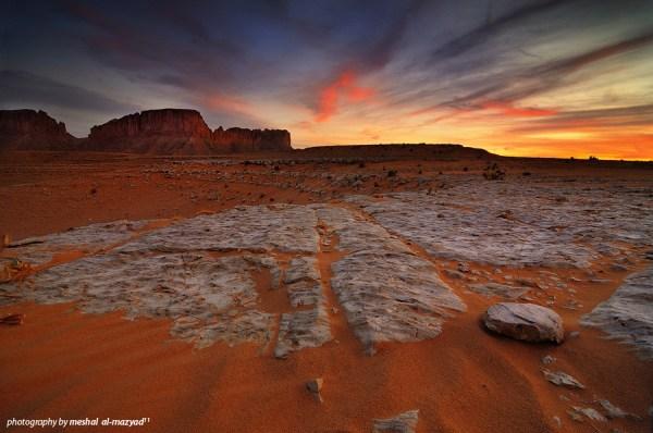 landscapes of saudi arabia behance