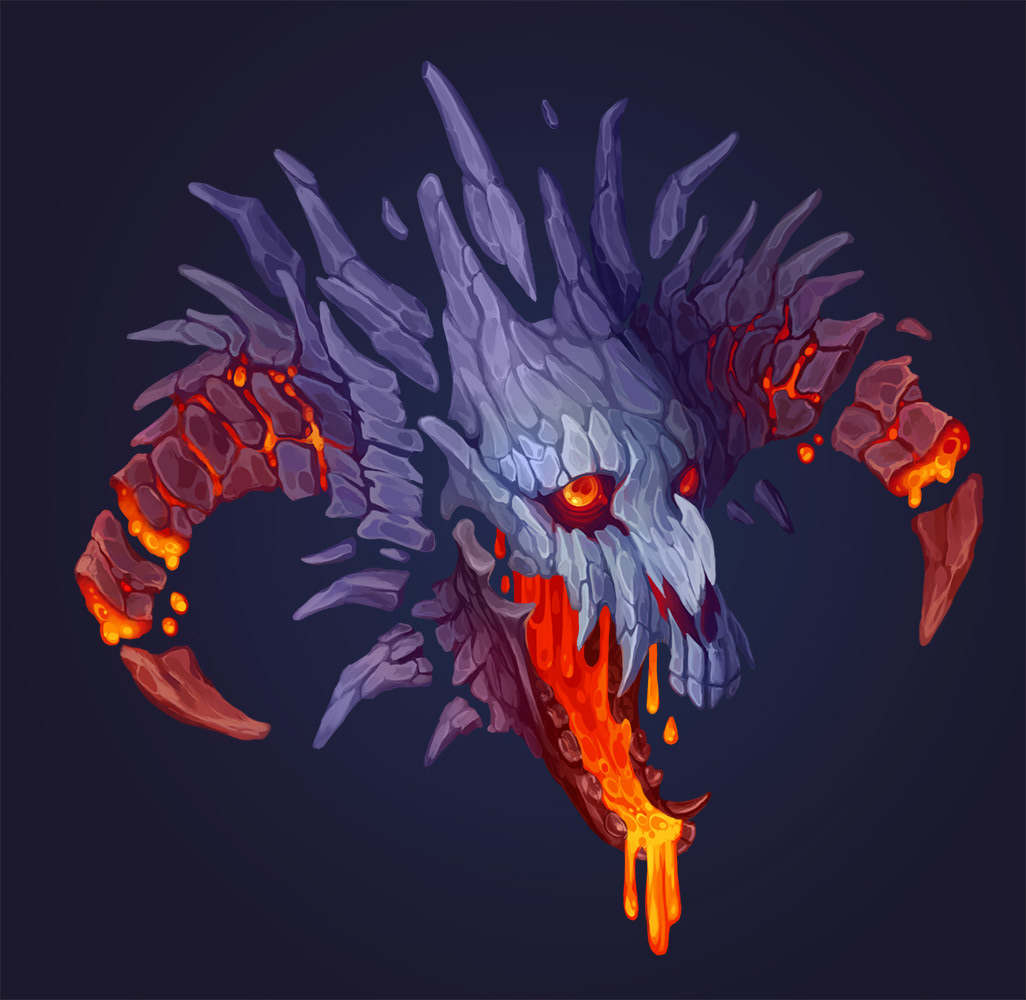 lava dragon on behance