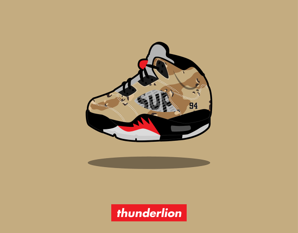 Cute Sneaker Illustration Behance