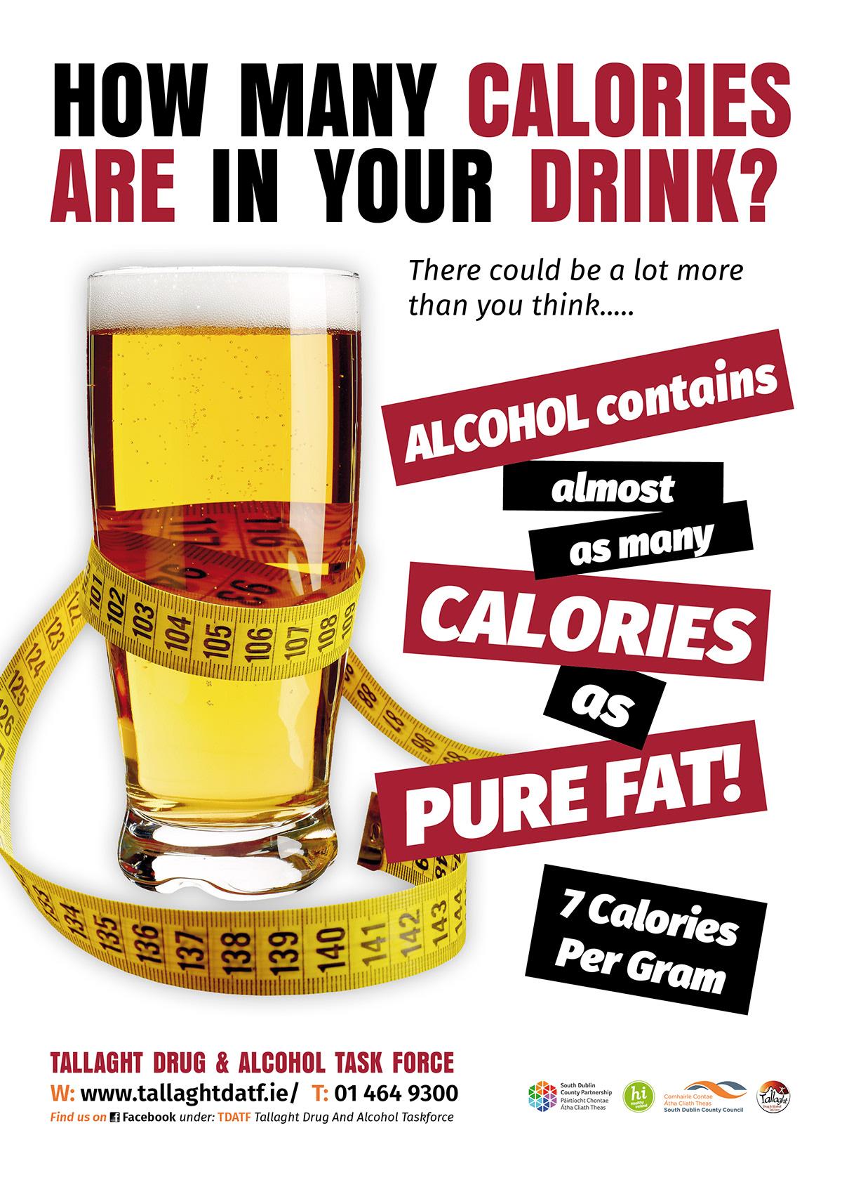 alcohol awareness poster on behance