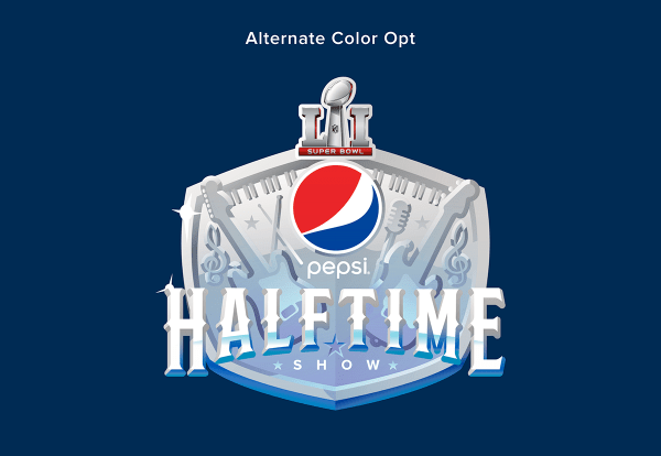 Super Bowl Pepsi Halftime Logo Behance