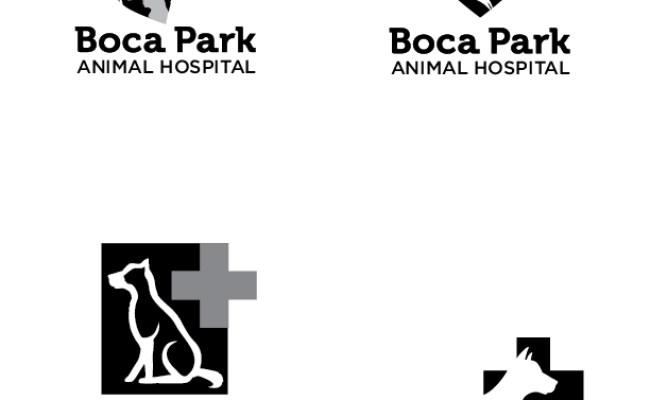 Boca Park Animal Hospital Print And Web Design On Behance