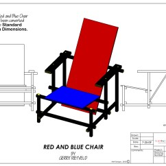 Red Blue Chair Covers Peterborough And On Behance