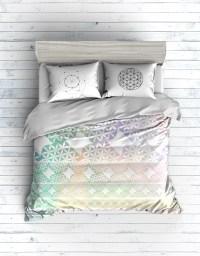 Flower of life bedding set on Behance