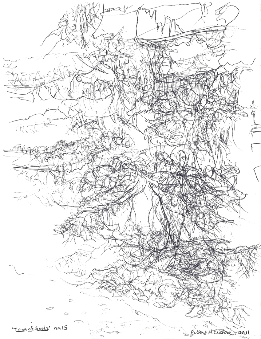 TREE OF SOULS : 2011 + : Selected Drawings from Suite on