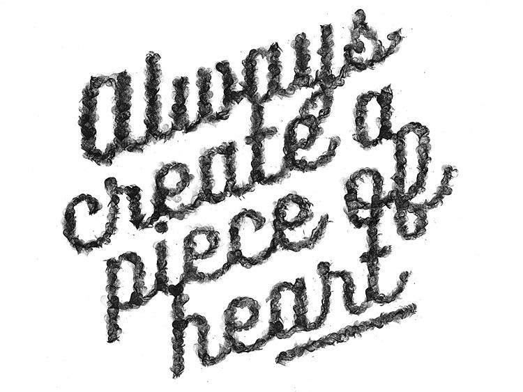 Always Create a Piece of HeART on Behance