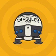 Capsule Corp Ship Illustration Behance