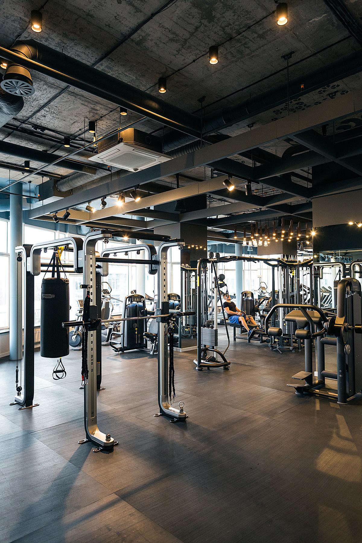 Fitness Club PALESTRA On Behance