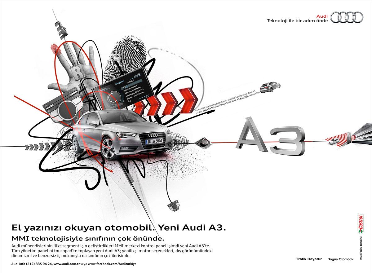 """Audi A3 Sportback: """"Harder, better, faster, stronger'' on"""