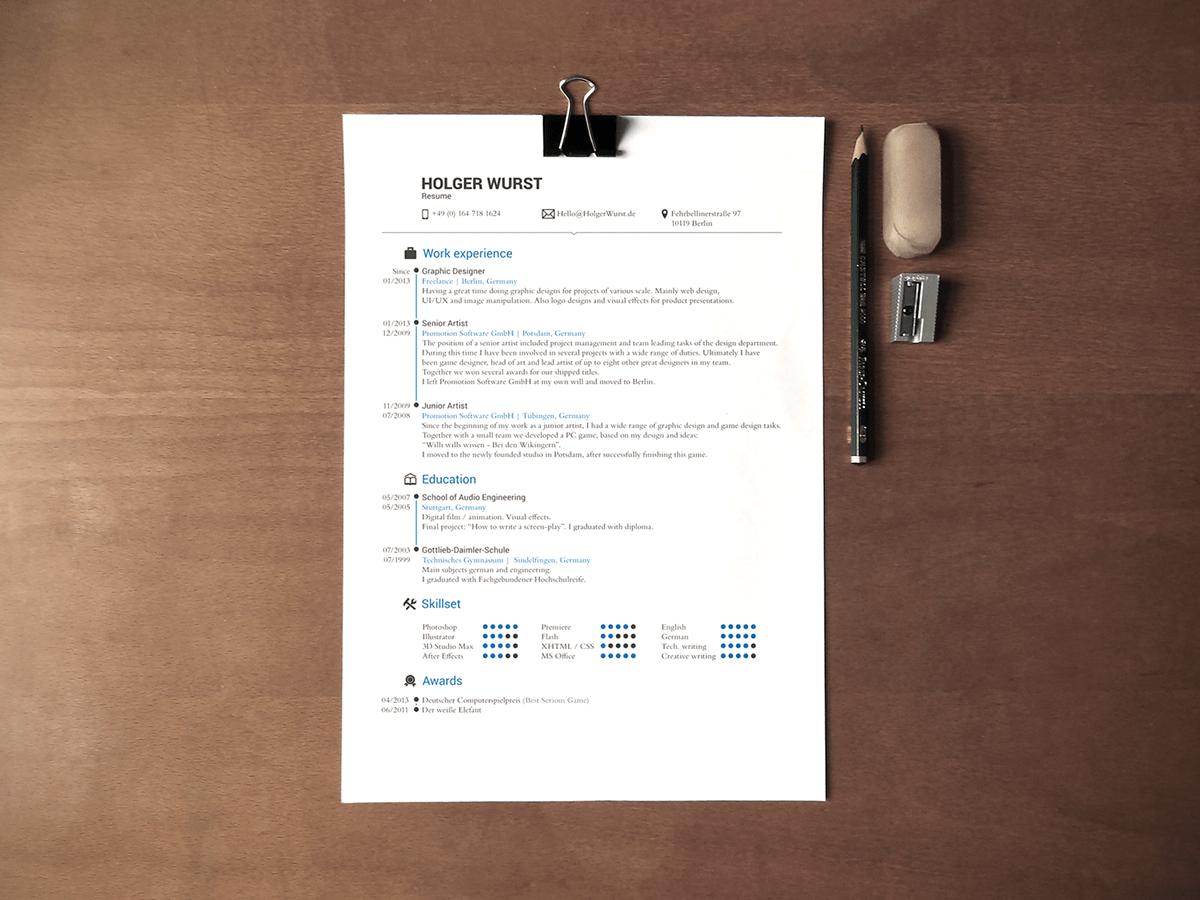 cv and resume