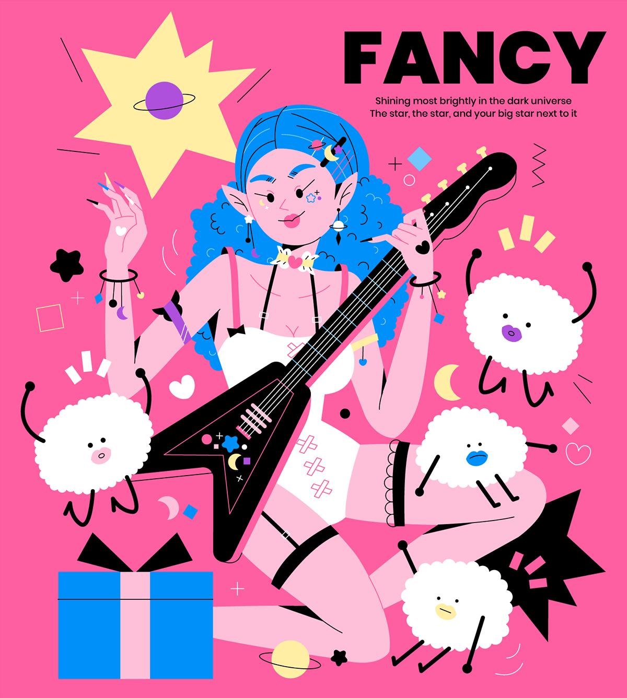 FANCY YOU on Behance