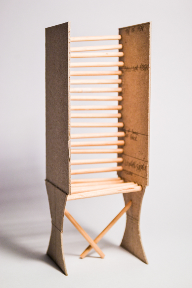 chair design model adirondack cushion human scale on behance through a contoured that accounts for anthropometric data along with subtraction and addition construction techniques moreover this can