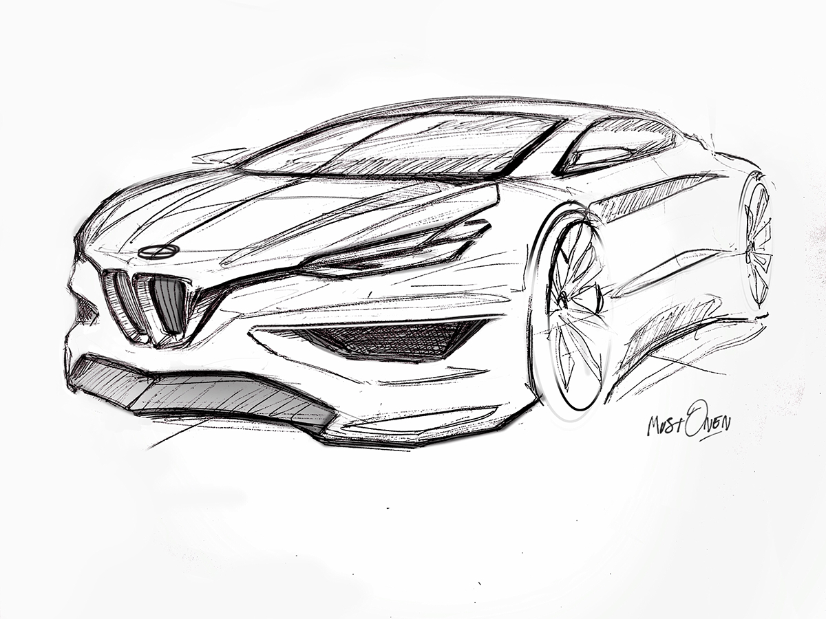 Bmw Concept Sketch On Behance