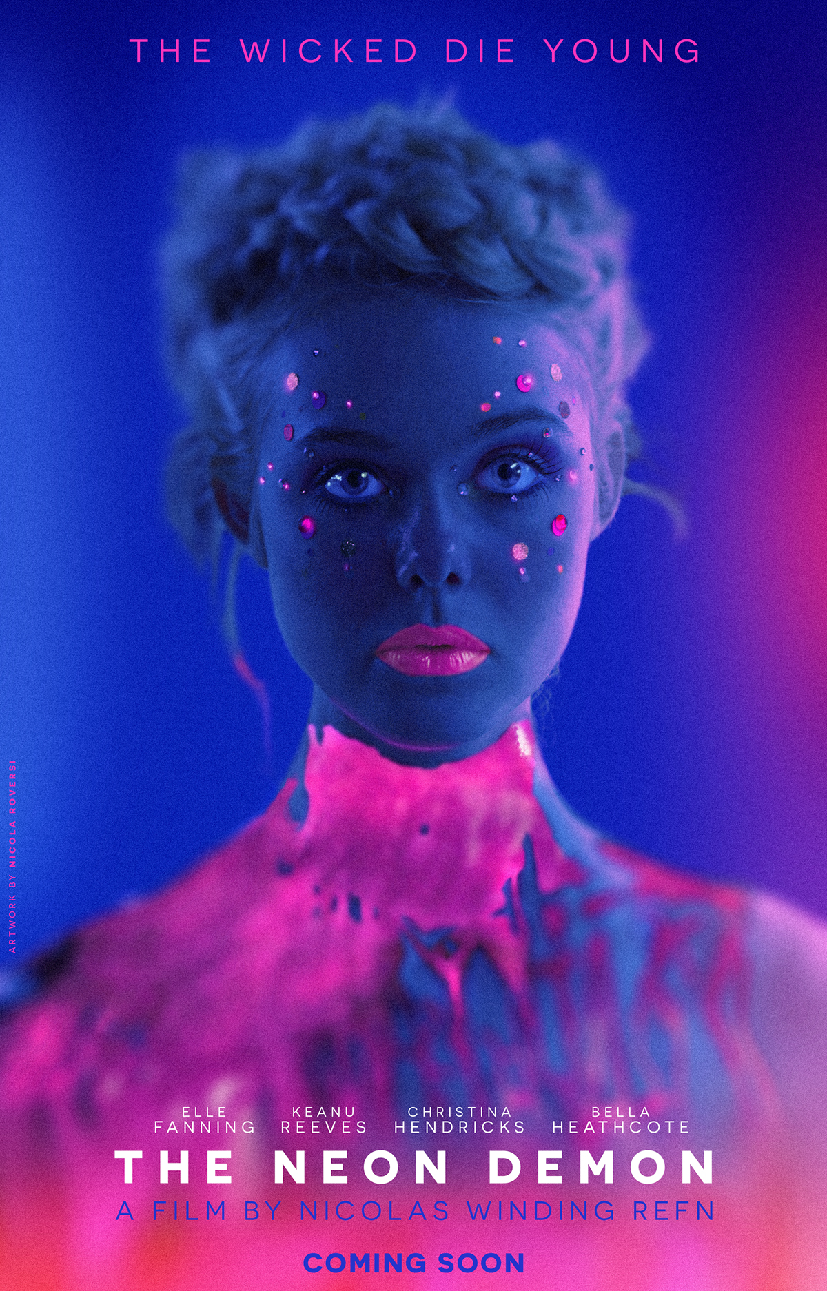 The Neon Demon on Behance