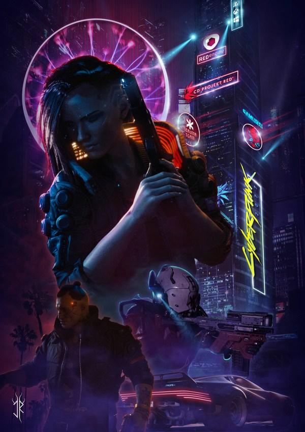 Cyberpunk 2077 - Poster Behance