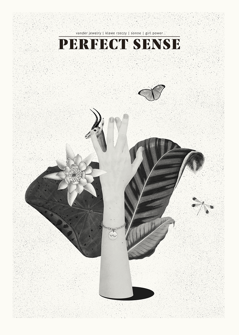 perfect sense   collages on Behance