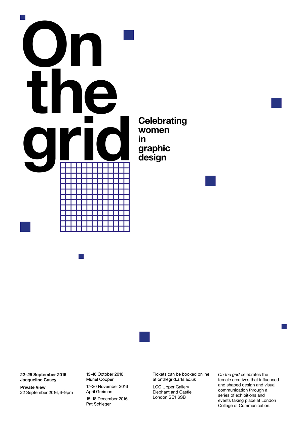 On the grid Posterzine on Behance