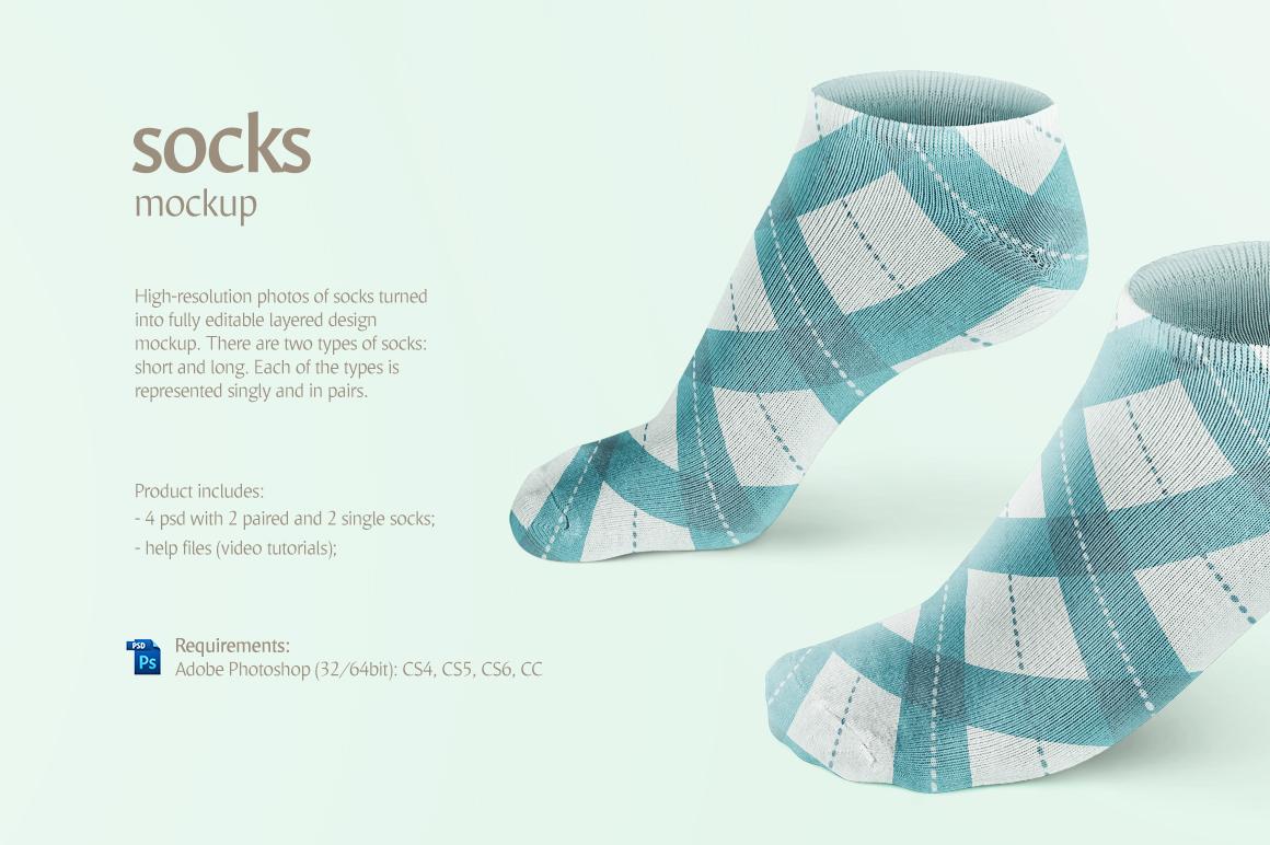 Socks Mockup on Behance