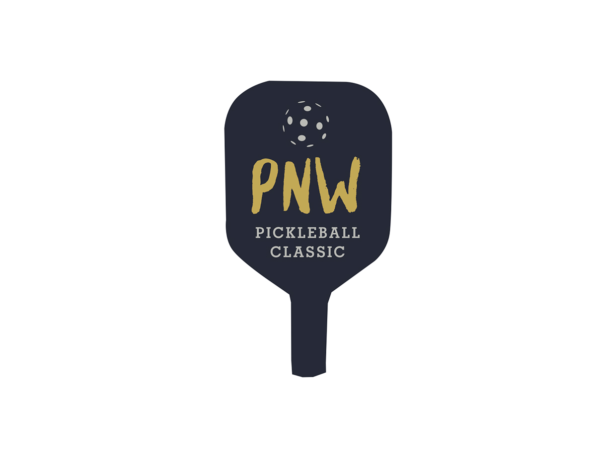 hight resolution of  pickleball tournaments in the northwest and across the united states lack a clear design scheme their logos often seem like nothing more than clipart