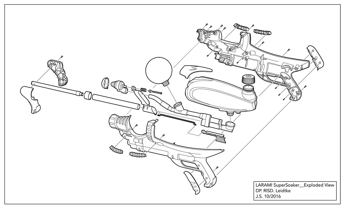 Fire a water gun on RISD Portfolios