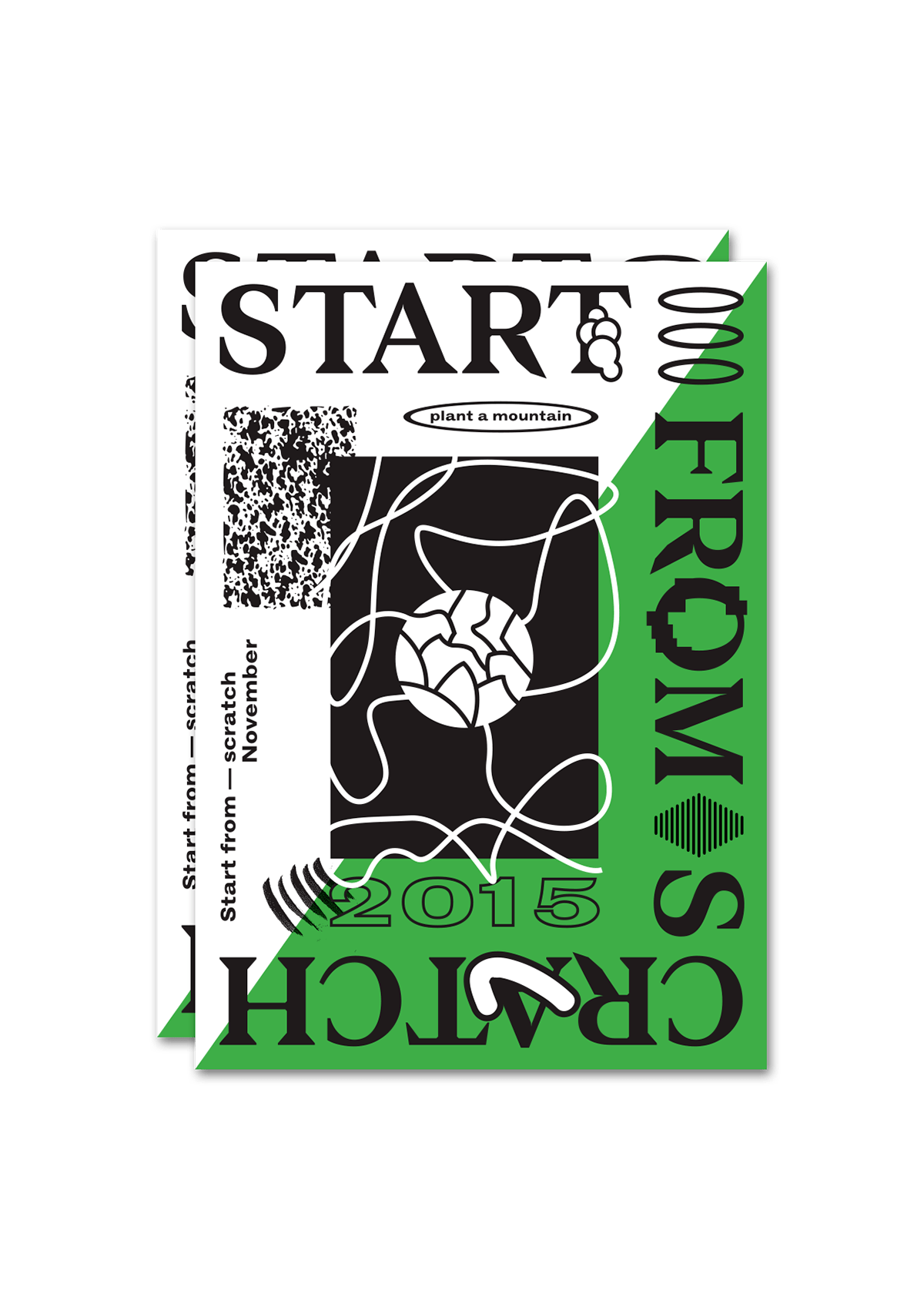 Start From Scratch for Fount Magazine on Behance