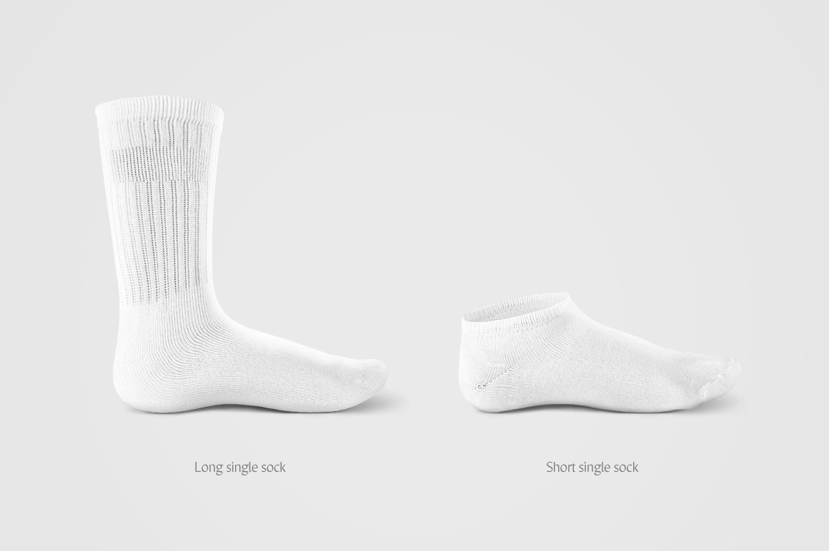 Socks Mockup on Behance
