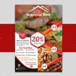 Restaurant Food Flyer Design On Los Andes Portfolios