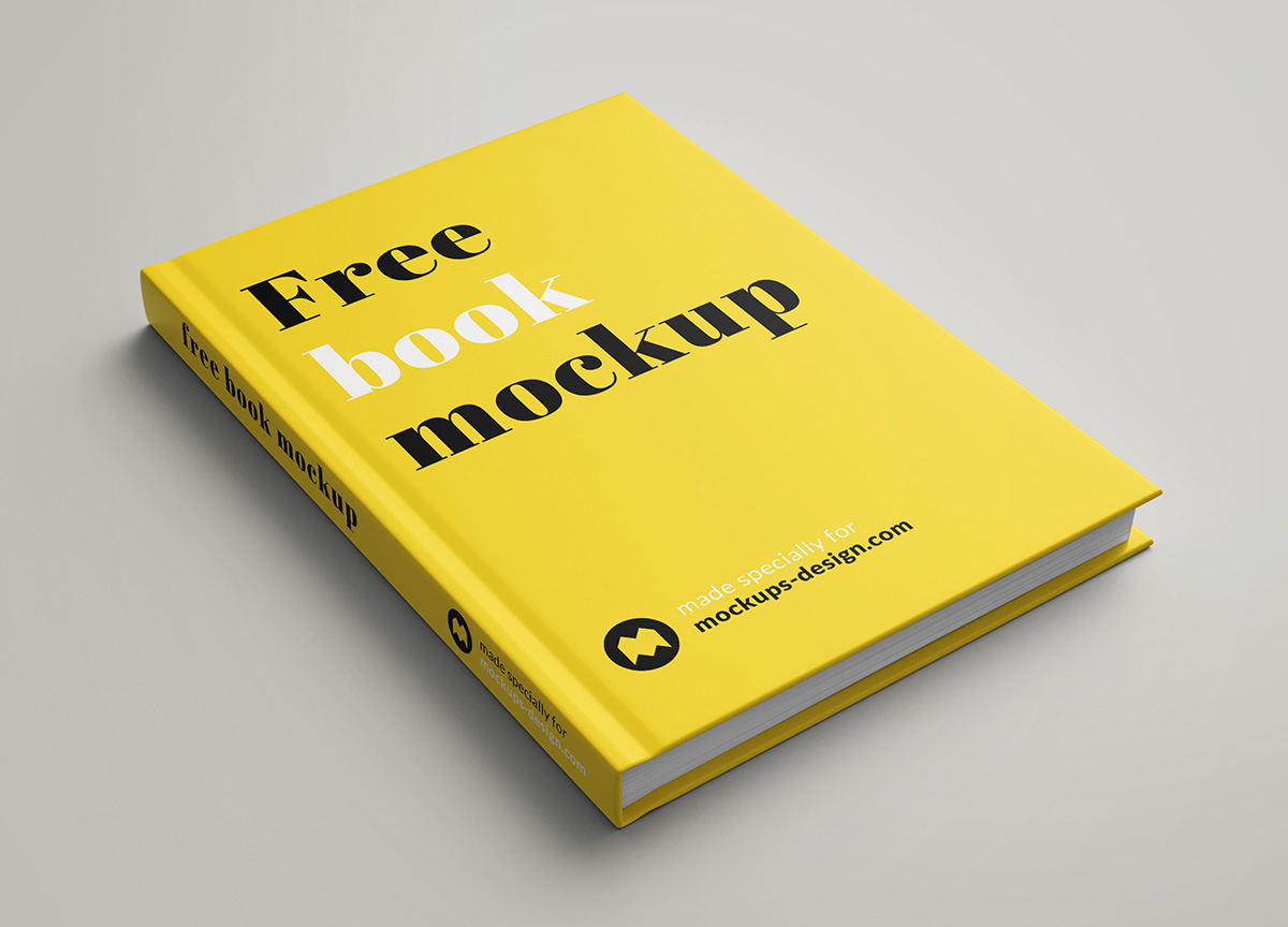 Five free book mockup generators. Free Book Mockup On Behance