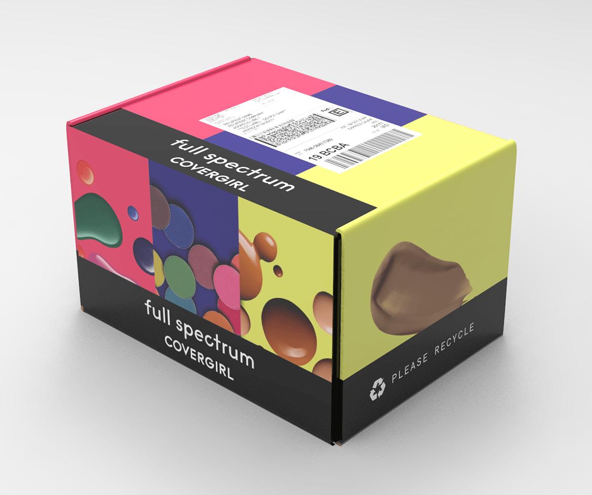 Cover Girl Full Spectrum Influencer Kit on Behance