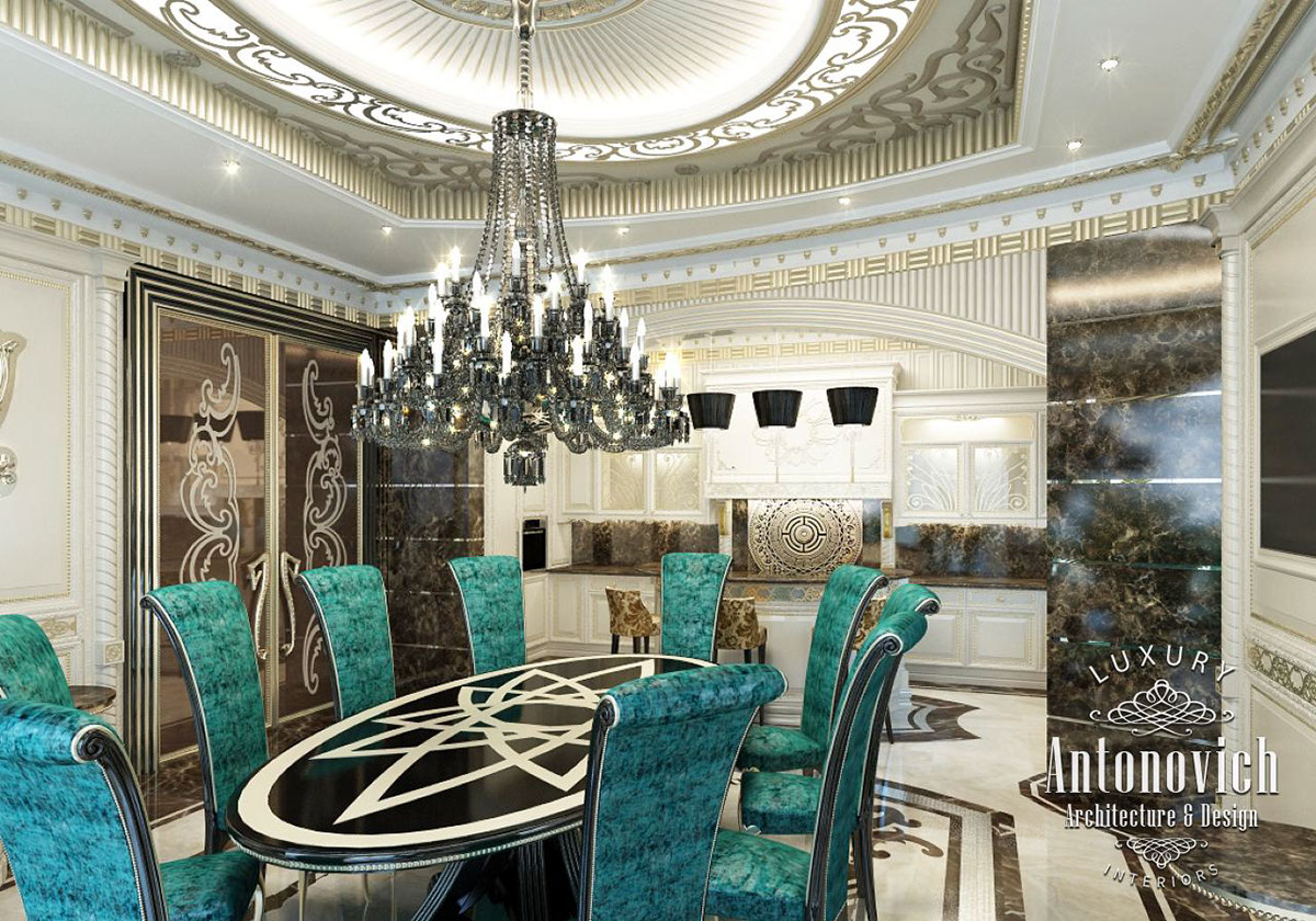 kitchen dubai from luxury antonovich design on behance