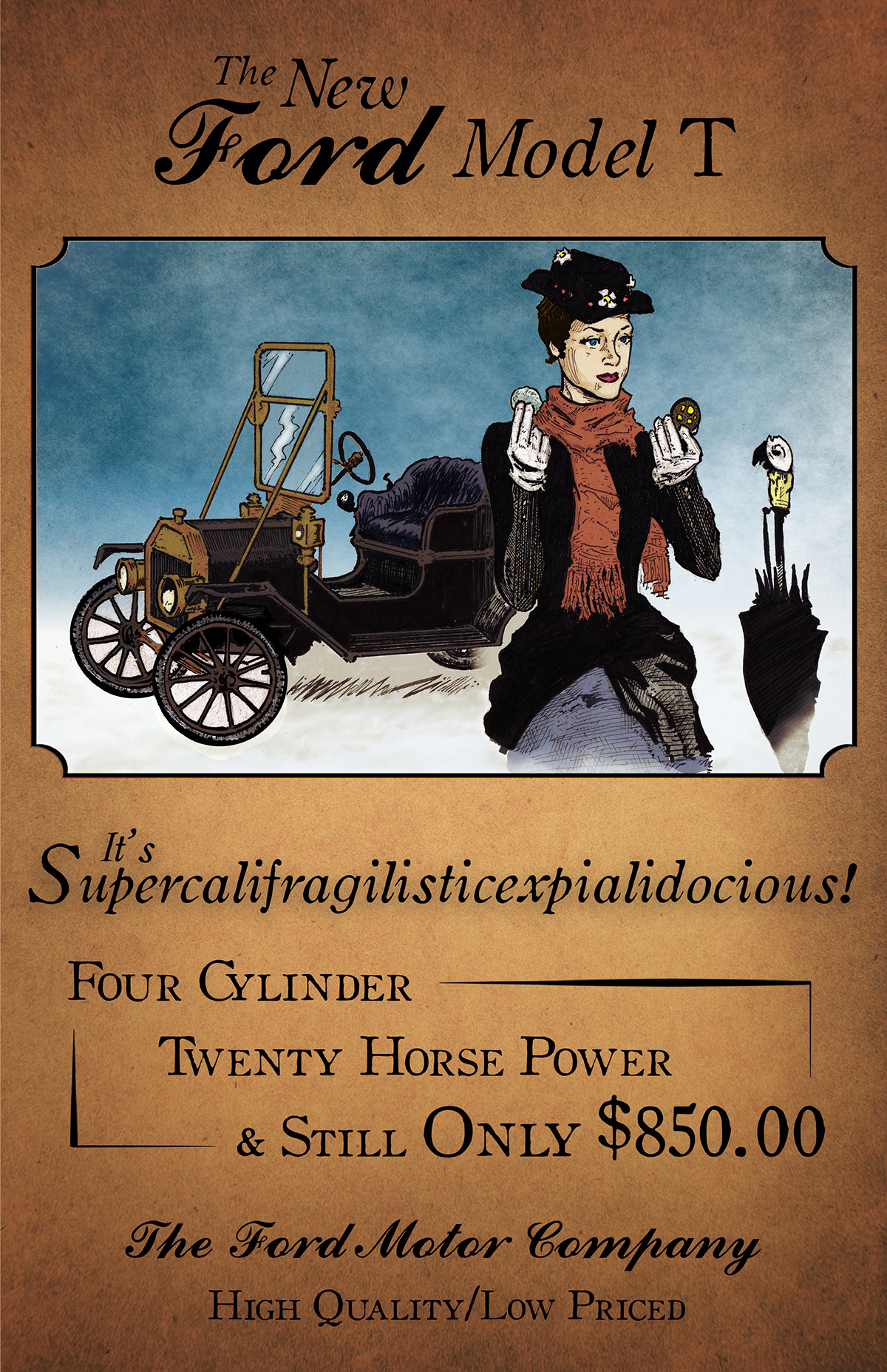 The New Supercalifragilisticexpialidocious Ford Model T on Behance