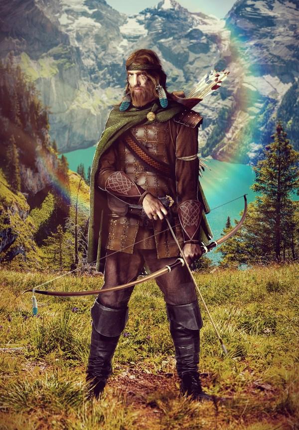 Dragonlance Tanis Art