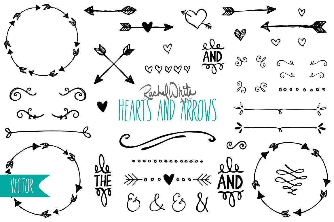 Hearts Amp Arrows Vector Design Files On Behance