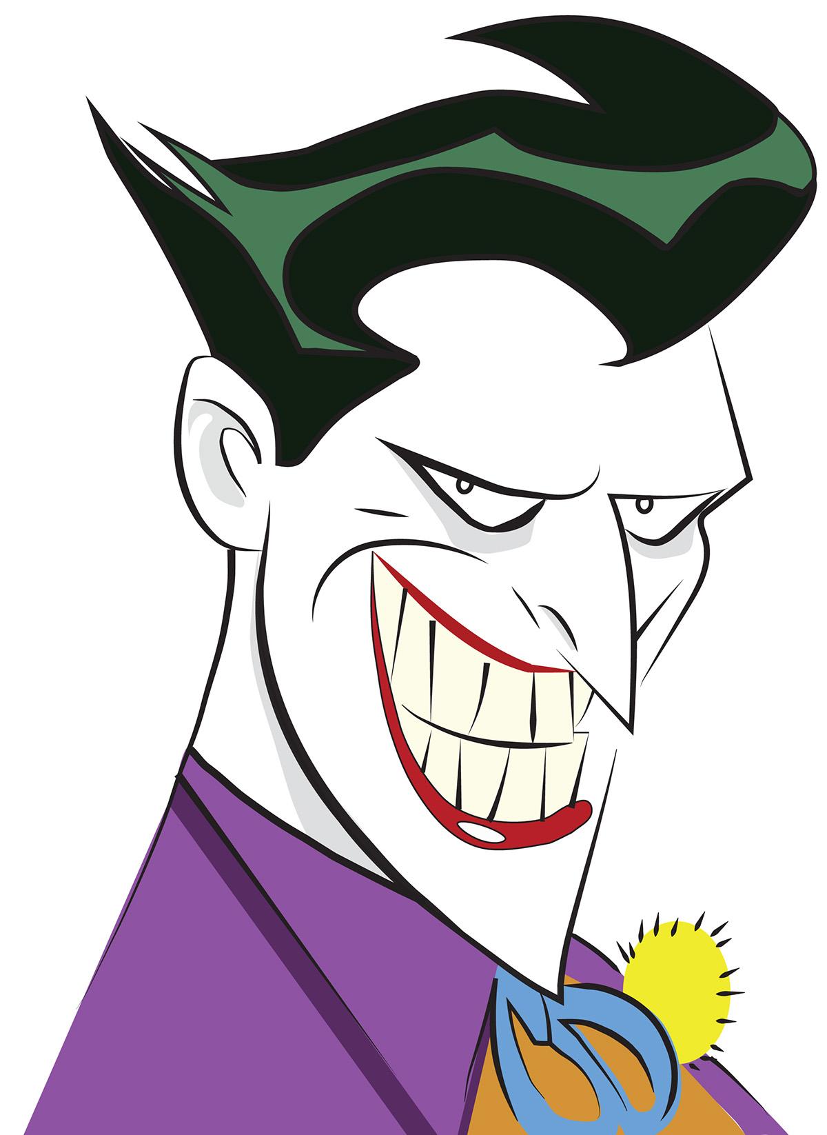 The Original Batman Animated Series Joker On Behance