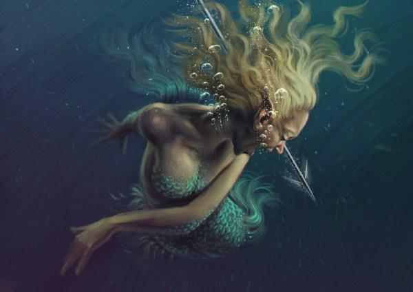 Mermaid Pantone Canvas