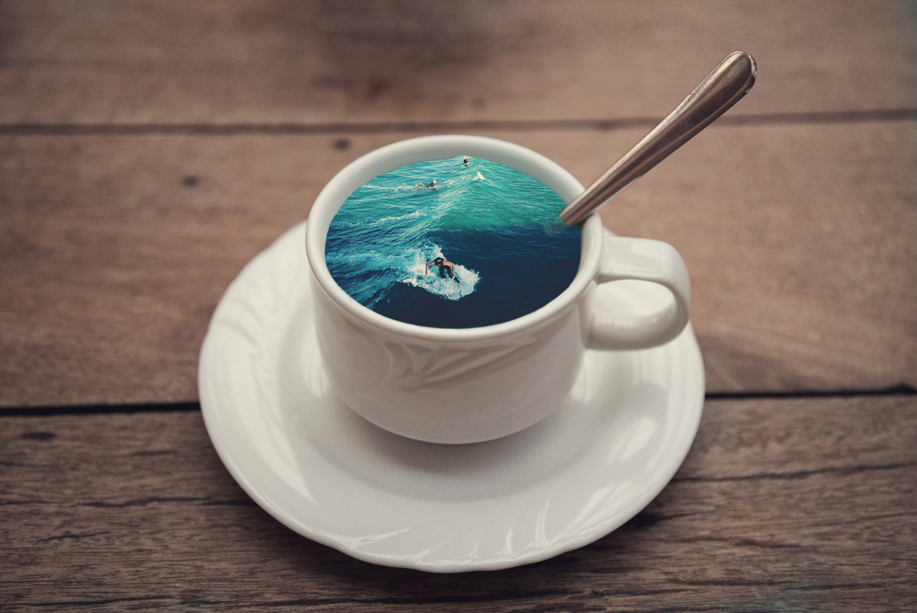 Coffee Cup Manipulations on Behance