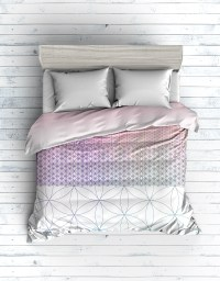Flower of life bedding set on Behance