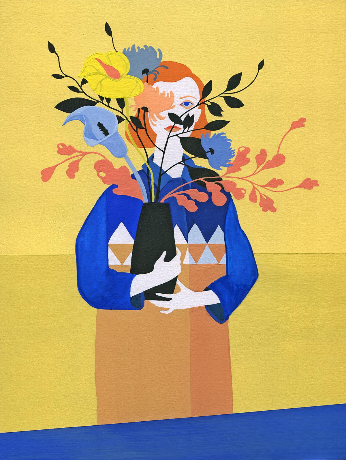 Gouache Paintings ArtWorks :: PicassoMio