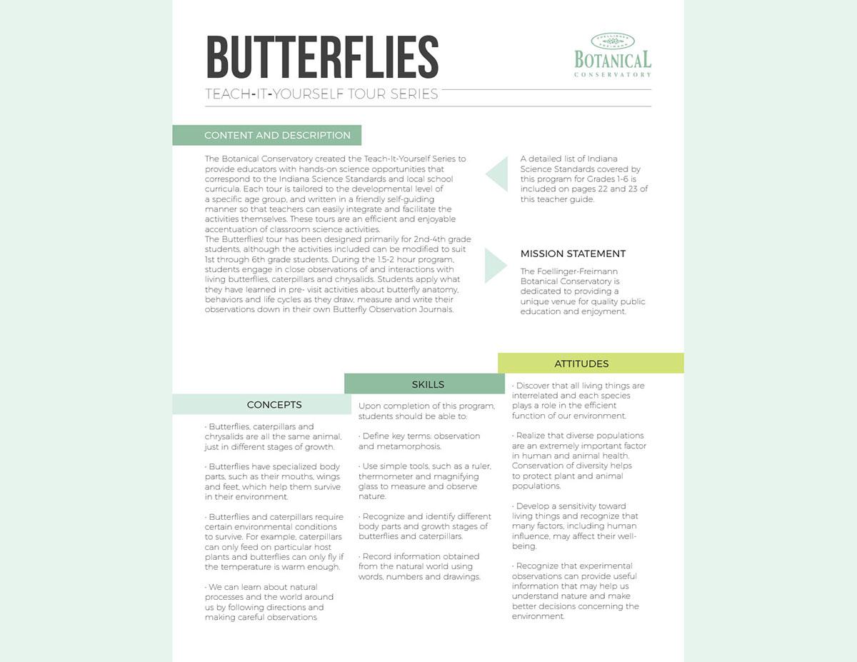Butterfly Showcase