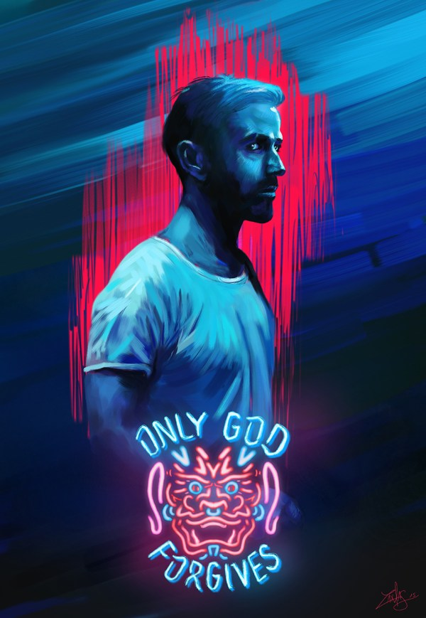 Only God Forgives Art