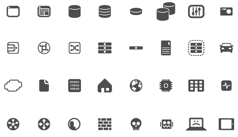F5—network Diagram Icons On Behance