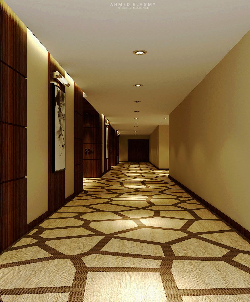 MOVENPICK HOTEL | Corridor Area on Behance