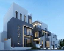 Modern Villa In Kuwait Behance